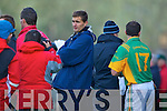 KOR V SOUTH KERRY   Manager James O'Sullivan and Maurice Fitzgerald Kerins O'Rahillys v  South Kerry in the AIB County Senior Football Championship Semi Final at Fitzgerald Stadium on Sunday..KERINS O'RAHILLYS 2-13 SOUTH KERRY 2-13