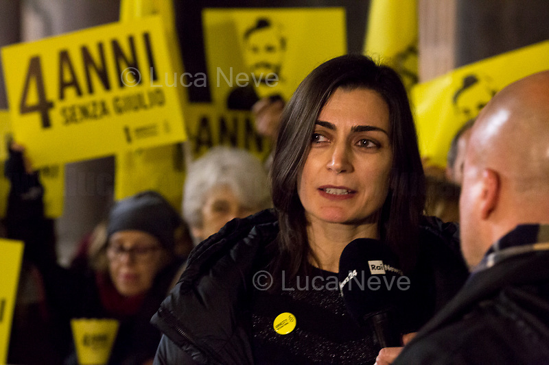 Tina Marinari (Campaign Coordinator for Amnesty International Italia) interviewed by RAI.<br />