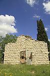 Samaria, the Ottoman train station of Masudiya (Sebastia)