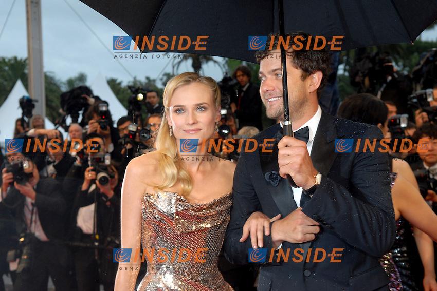 Diane Kruger, Joshua Jackson.Cannes 20/05/2012 65° Festival de Cinema di Cannes.Photo LOIC THEBAUD  Panoramic/Insidefoto