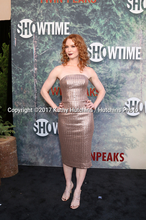 "LOS ANGELES - MAY 19:  Alicia Witt at the ""Twin Peaks"" Premiere Screening at The Theater at Ace Hotel on May 19, 2017 in Los Angeles, CA"
