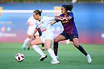 FC Barcelona vs Montpellier HSC: 1-2.<br /> Andressa Alves vs Marion Torrent.