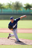 Aaron Miller - Los Angeles Dodgers - 2010 Instructional League.Photo by:  Bill Mitchell/Four Seam Images..