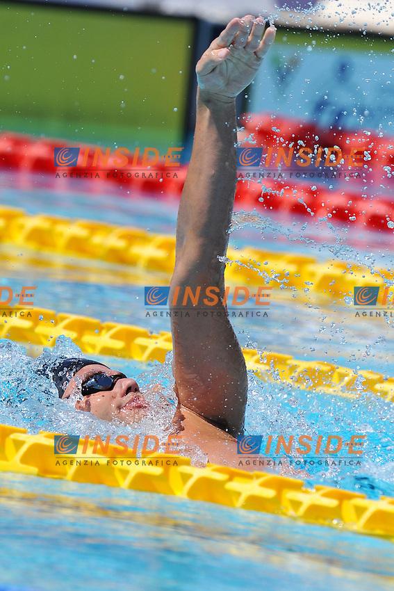 Thiago Pereira Brasile<br /> 200m Medley Men<br /> Roma 15/6/2013 Piscina del Foro Italico <br /> Nuoto 50mo trofeo Settecolli<br /> Settecolli 50th International swimming trophy <br /> Foto Antonietta Baldassarre Insidefoto