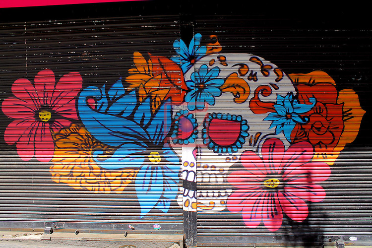 Street Art-Graffittis.<br /> Carrer Tamarit.<br /> Barcelona-Poble Sec (Sans Montjuic).