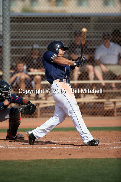 Alan Garcia - San Diego Padres 2016 spring training (Bill Mitchell)