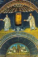 Ravenna: Mausoleum of Galla Placidia, interior, 5th century.