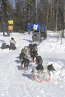 Benoit Gerard Anchorage Start Iditarod 2008.