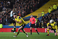4th February 2020; Kassam Stadium, Oxford, Oxfordshire, England; English FA Cup Football; Oxford United versus Newcastle United; Allan Saint-Maximin of Newcastle shoots and scores in 26th minute of extra time