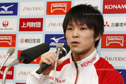Kohei Uchimura, <br /> May 8, 2014 - Artistic Gymnastics : <br /> The 68th All Japan Gymnastics Championship <br /> Men's Individual All-Around <br /> at 1st Yoyogi Gymnasium, Tokyo, Japan. <br /> (Photo by AFLO SPORT)
