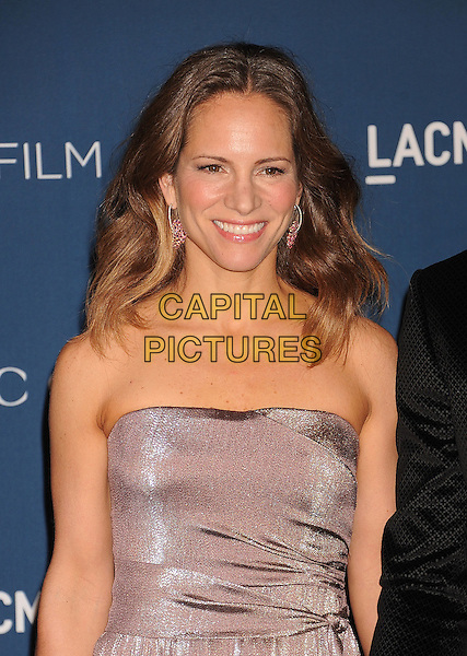 LOS ANGELES, CA- NOVEMBER 02: Susan Downey (nee Levin) at the LACMA 2013 Art + Film Gala at LACMA on November 2nd, 2013 in Los Angeles, California, USA.<br /> CAP/ROT/TM<br /> &copy;Tony Michaels/Roth Stock/Capital Pictures