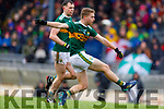 Gavin Crowley  Kerry in action against  Monaghan during the Allianz Football League Division 1 Round 5 match between Kerry and Monaghan at Fitzgerald Stadium in Killarney, on Sunday.