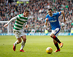 11.3.2018 Rangers v Celtic:<br /> Callum McGregor and Jamie Murphy