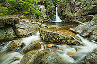 Rocky Glen falls, Franconia Notch State Park, White Mountains, New Hampshire