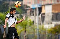 SÃO PAULO,SP,19 JULHO 2013 - TREINO CORINTHIANS -  Maldonado durante treino do Corinthians  no CT Joaquim Grava na zona leste de Sao Paulo,na tarde desta sexta feira.O time se prepara para o jogo contra o Atletico Paranaense.FOTO ALE VIANNA - BRAZIL PHOTO PRESS.