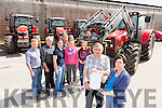 Launching the safe tractor driving course for teenagers from 14 to 16 year olds. It involves creating safety awareness among young people working on farms.This safety course is run in Tralee, Dingle, Listowel and Castleisland. Front l-r Don Collins <br /> Kerry Tractors Ltd,  Sponsor, Ger Brosnan,North East Kerry Development,Tom Galvin,NEKD Farm Families, John O'Sullivan NEKD Farm Families,Deirdre Foley,NEKD Farm Families, Edward Breen NEKD Farm Families, Suis&iacute; Deir&iacute;s and Sinead Kearney