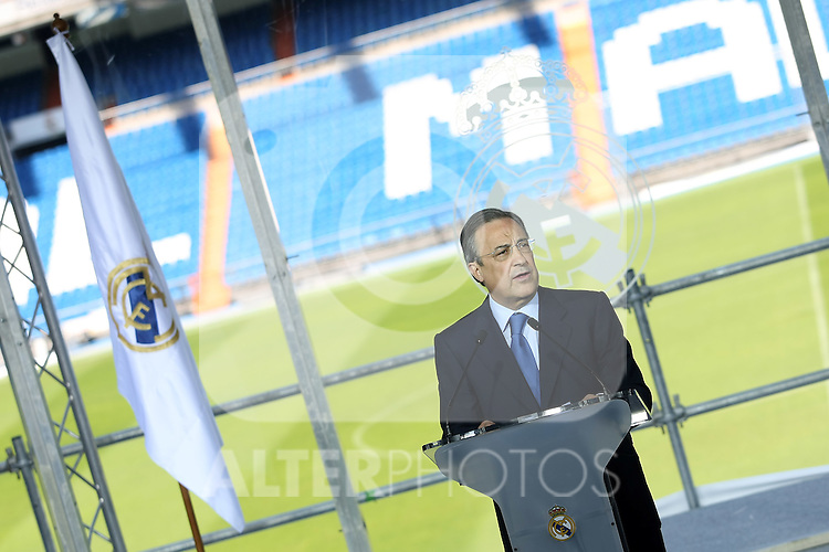 Real Madrid's new President Florentino Perez.June 1 2009. (ALTERPHOTOS/Acero).
