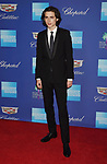 PALM SPRINGS, CA - JANUARY 02: Actor Timothée Chalamet arrives at the 29th Annual Palm Springs International Film Festival Film Awards Gala at Palm Springs Convention Center on January 2, 2018 in Palm Springs, California.
