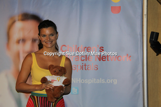The Bold and The Beautiful - Heather Tom - supporting actress nominee and is a presenter and poses in the gifting suite at the 38th Annual Daytime Entertainment Emmy Awards 2011 held on June 19, 2011 at the Las Vegas Hilton, Las Vegas, Nevada. (Photo by Sue Coflin/Max Photos)