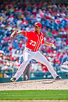 21 June 2015: Washington Nationals pitcher Felipe Rivero on the mound against the Pittsburgh Pirates at Nationals Park in Washington, DC. The Nationals defeated the Pirates 9-2 to sweep their 3-game weekend series, and improve their record to 37-33. Mandatory Credit: Ed Wolfstein Photo *** RAW (NEF) Image File Available ***