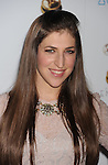 WEST HOLLYWOOD, CA - SEPTEMBER 21: Mayim Bialik attends the 64th Primetime Emmy Awards Performers Nominee reception held at Spectra by Wolfgang Puck at the Pacific Design Center on September 21, 2012 in West Hollywood, California.