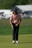 Tommy Fleetwood (ENG) on the 16th green during the 3rd round at the PGA Championship 2019, Beth Page Black, New York, USA. 19/05/2019.<br /> Picture Fran Caffrey / Golffile.ie<br /> <br /> All photo usage must carry mandatory copyright credit (© Golffile | Fran Caffrey)