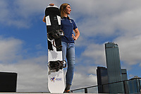 Joany Badenhorst / Para-Snowboarder<br /> is named a joint Team Captain for the <br /> 2018 Winter Paralympic Games in South Korea.<br /> Shot on location at PWC Melbourne<br /> Monday October 23rd  2017<br /> &copy; Explorer-Media / Jeff Crow