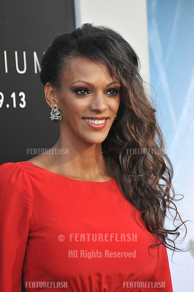 Judi Shekoni at the world premiere of &quot;Elysium&quot; at the Regency Village Theatre, Westwood.<br /> August 7, 2013  Los Angeles, CA<br /> Picture: Paul Smith / Featureflash