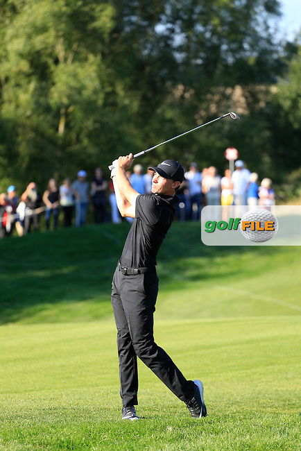 Paul Petersen (USA) in action during the final round of the Porsche European Open, Golf Resort Bad Griesbach, Bad Griesbach, Germany. 25/09/2016<br /> Picture: Golffile | Phil Inglis<br /> <br /> <br /> All photo usage must carry mandatory copyright credit (&copy; Golffile | Phil Inglis)