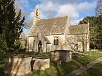 Historic village parish church of Saint  Stephen, Beechingstoke, Wiltshire, England, UK Vale of Pewsey