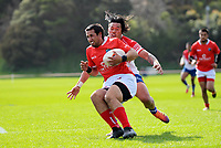 Action from the 2019 Heartland Championship  rugby match between Horowhenua Kapiti and Poverty Bay at Waikanae Domain in Waikanae, New Zealand on Saturday, 28 September 2019. Photo: Dave Lintott / lintottphoto.co.nz