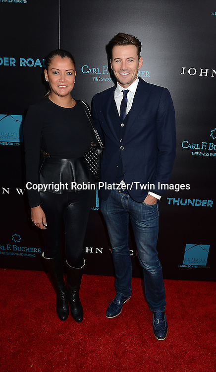 Alex Lundqvist and wife attend the Special Screening of &quot;John Wick&quot;  on October 13, 2014 at the Regal Union Square Stadium 14 in New York City.<br /> <br /> photo by Robin Platzer/Twin Images<br />  <br /> phone number 212-935-0770