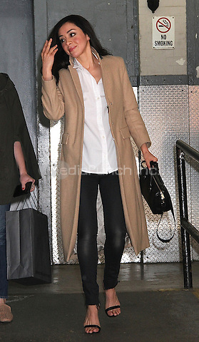 NEW YORK, NY - MAY 9:  Aimee Garcia spotted leaving 'AOL Build' where she promoted the television series 'Rush Hour'  in New York, New York on May 9, 2016. Photo Credit: Rainmaker Photo/MediaPunch