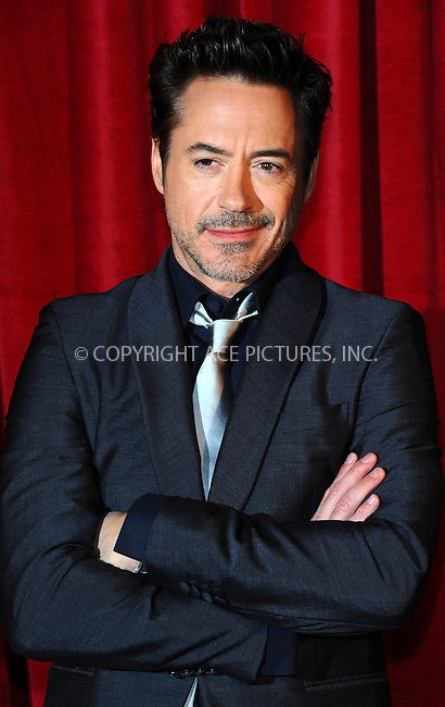 WWW.ACEPIXS.COM . . . . .  ..... . . . . US SALES ONLY . . . . .....December 8 2011, London....Robert Downey Jr at the premiere of 'Sherlock Holmes: A Game of Shadows' held at the Empire Leicester Square on December 8 2011 in London....Please byline: FAMOUS-ACE PICTURES... . . . .  ....Ace Pictures, Inc:  ..Tel: (212) 243-8787..e-mail: info@acepixs.com..web: http://www.acepixs.com