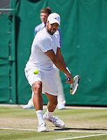 England, London, 27.06.2014. Tennis, Wimbledon, AELTC, Jo-Wilfried Tsonga (FRA)<br /> Photo: Tennisimages/Henk Koster