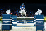 Daniel Deusser of Germany riding Cornet D'Amour competes in the Longines Grand Prix during the Longines Masters of Hong Kong at AsiaWorld-Expo on 11 February 2018, in Hong Kong, Hong Kong. Photo by Diego Gonzalez / Power Sport Images
