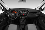 Stock photo of straight dashboard view of 2019 Ram Promaster-City Tradesman 5 Door Car Van Dashboard