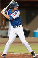 17 August 2010: Maxime Charlot of Team France is seen at bat during the Czech Republic 4-3 win over France, at the 2010 European Championship, under 21, in Brno, Czech Republic.