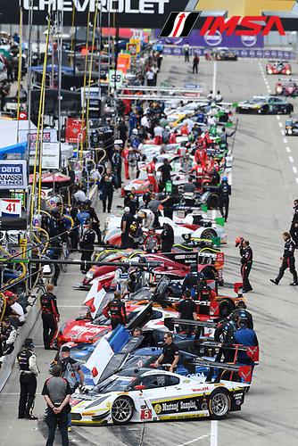 3-4 June, 2016, Detroit, Michigan USA<br /> Pre Race Grid<br /> &copy;2016, Richard Dole<br /> LAT Photo USA