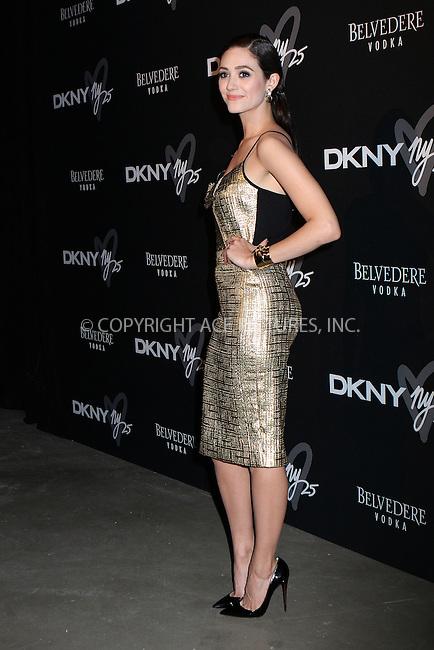 WWW.ACEPIXS.COM<br /> <br /> September 9, 2013, New York City<br /> <br /> Emmy Rossum at the DKNY 25 Birthday Bash on September 9, 2013 in New York City. <br /> <br /> By Line: Nancy Rivera/ACE Pictures<br /> <br /> <br /> ACE Pictures, Inc.<br /> tel: 646 769 0430<br /> Email: info@acepixs.com<br /> www.acepixs.com