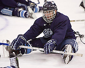 Keith Johnson - The University of Maine Black Bears practiced on Wednesday, April 5, 2006, at the Bradley Center in Milwaukee, Wisconsin, in preparation for their April 6 2006 Frozen Four Semi-Final game versus the University of Wisconsin.