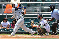 5 June 2010:  FIU's Raiko Alfonso (5) bats in the third inning as the Dartmouth Green Wave defeated the FIU Golden Panthers, 15-9, in Game 3 of the 2010 NCAA Coral Gables Regional at Alex Rodriguez Park in Coral Gables, Florida.