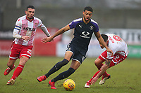 Jake Jervis of Luton Town during Stevenage vs Luton Town, Sky Bet EFL League 2 Football at the Lamex Stadium on 10th February 2018