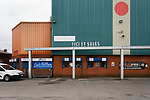 The outside of The Cheadle End. Stockport County v Barnet, 07032020. Edgeley Park, National League. Photo by Paul Thompson.