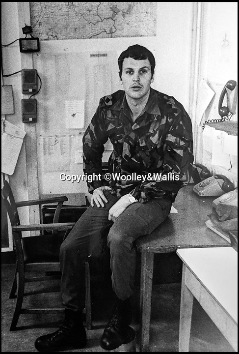 BNPS.co.uk (01202 558833)Pic: Woolley&Wallis/BNPS<br /> <br /> The man who led the SAS's secretive invasion of Argentina 36 years ago has spoken for the first time about the disastrous mission as he puts his medals up for sale.<br /> <br /> Captain Andy Legg commanded the crack team of eight men for Operation Plum Duff, a raid to find and destroy enemy aircraft capable of carrying Argentina's three remaining Exocet missiles.<br />  <br /> Due to a combination of bad planning, poor weather and a lack of food the unit had to abandon the mission after spending five days trekking towards the enemy airbase.<br /> <br /> Mr Legg's campaign medals are now being sold by Woolley and Wallis for £40,000.