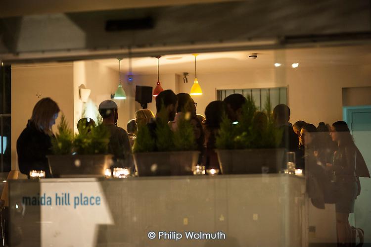 Tahini pop-up supper club at Maida Hill Place.