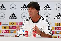 28.05.2016: Pressekonferenz der Nationalmannschaft