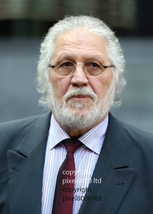 Pic shows: Dave Lee Travis - known as DLT - arrives for his new trial for sex offences at Southwark Crown Court today.<br /> <br /> <br /> <br /> <br /> Pic by Gavin Rodgers/Pixel 8000 Ltd 9.9.14
