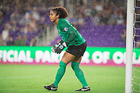 Orlando, FL - Saturday June 03, 2017: Abby Smith during a regular season National Women's Soccer League (NWSL) match between the Orlando Pride and the Boston Breakers at Orlando City Stadium.