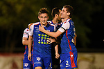 BRISBANE, AUSTRALIA - MARCH 16:  during the NPL Queensland Senior Mens Round 7 match between Olympic FC and Peninsula Power at Goodwin Park on March 16, 2019 in Brisbane, Australia. (Photo by Patrick Kearney)